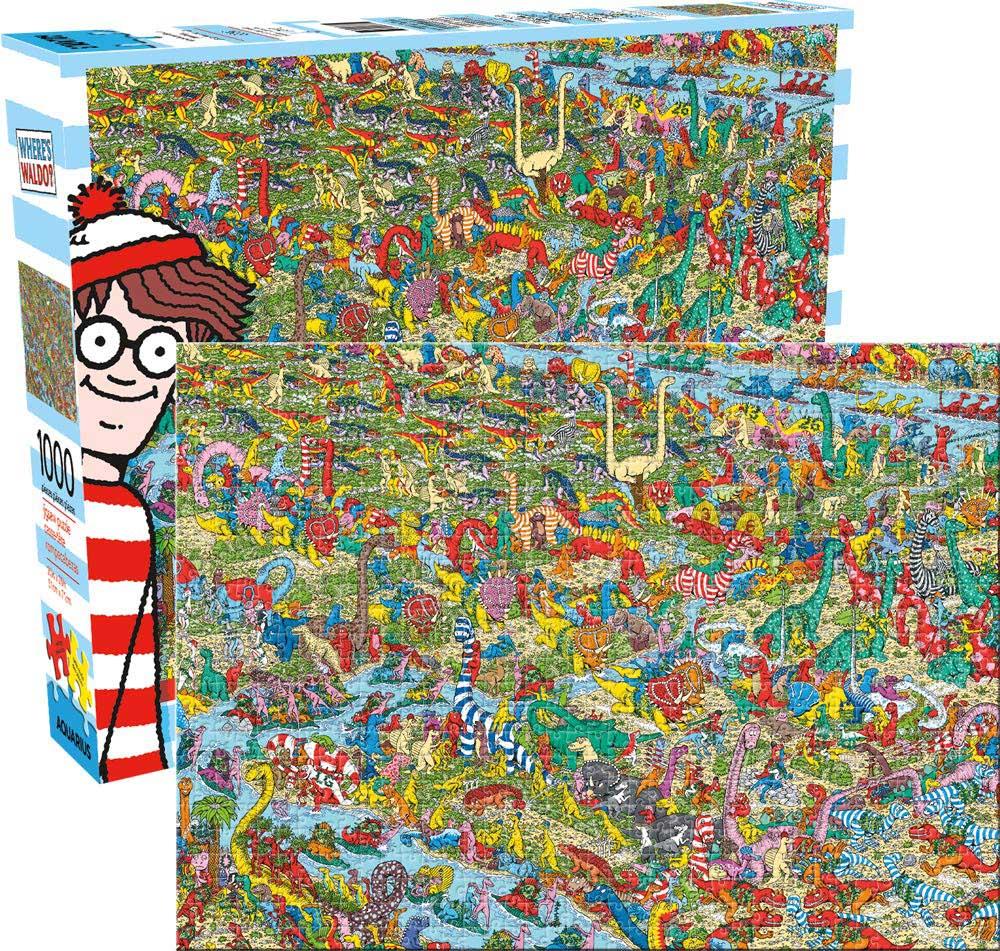 Where's Waldo Dinosaurs Dinosaurs Hidden Images