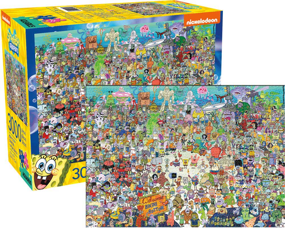 SpongeBob SquarePants Movies / Books / TV Jigsaw Puzzle
