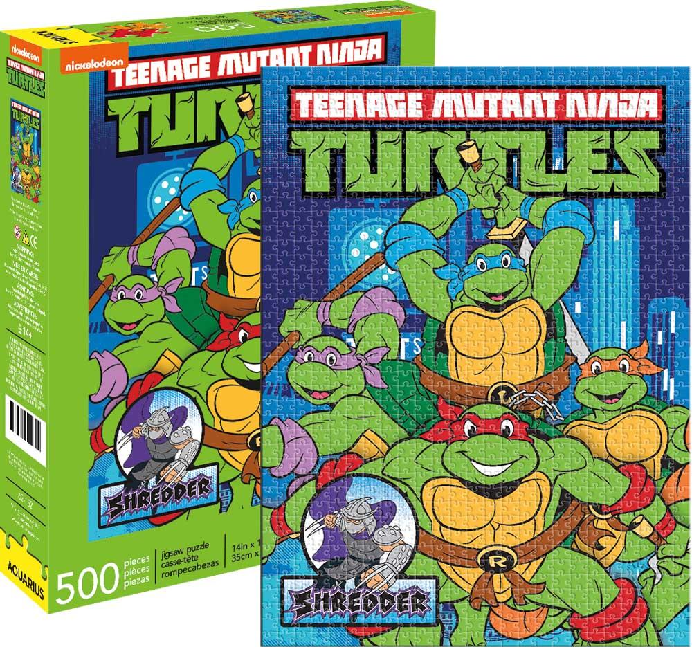 TMNT Cartoons Jigsaw Puzzle