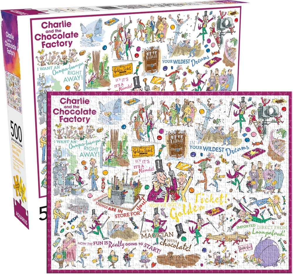 Charlie and the Chocolate Factory Movies / Books / TV Jigsaw Puzzle