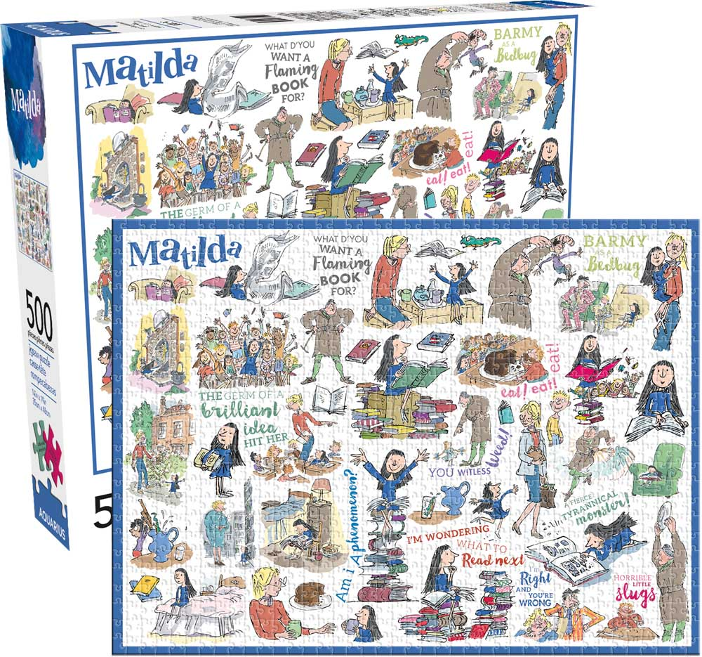 Matilda Movies / Books / TV Jigsaw Puzzle