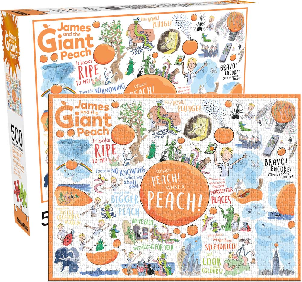 James and the Giant Peach Movies / Books / TV Jigsaw Puzzle