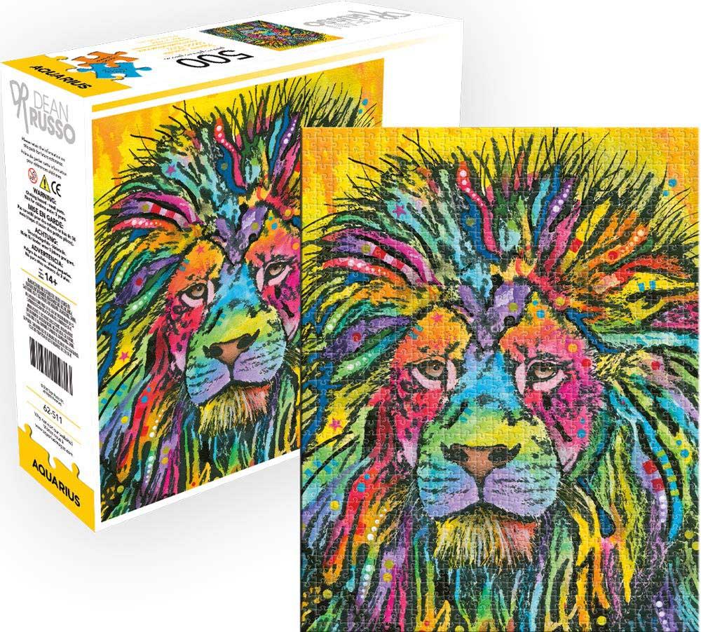 DR- Lion AS Lions Jigsaw Puzzle