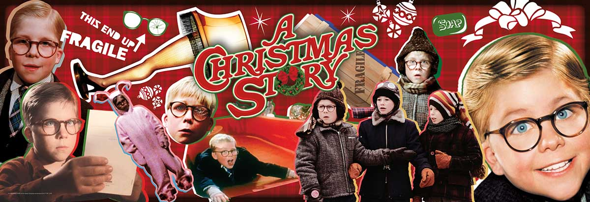 A Christmas Story Movies / Books / TV Jigsaw Puzzle