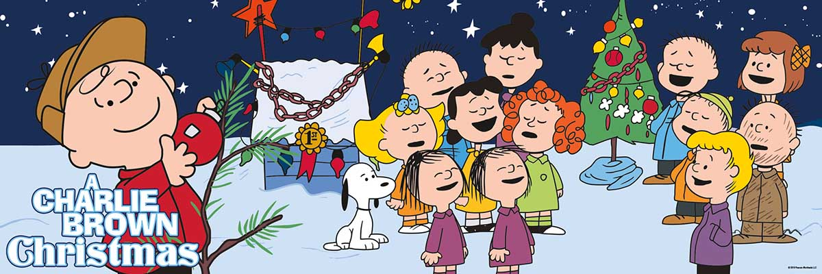 Charlie Brown Christmas Cartoons Jigsaw Puzzle