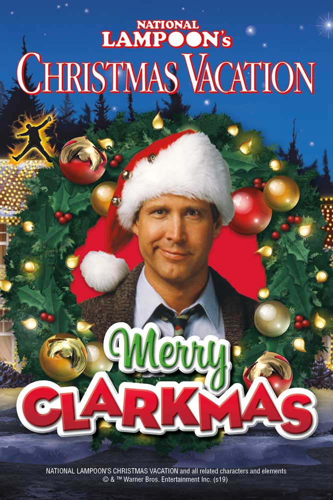 National Lampoon's Christmas Vacation Puzzle in a Tube Movies / Books / TV Jigsaw Puzzle