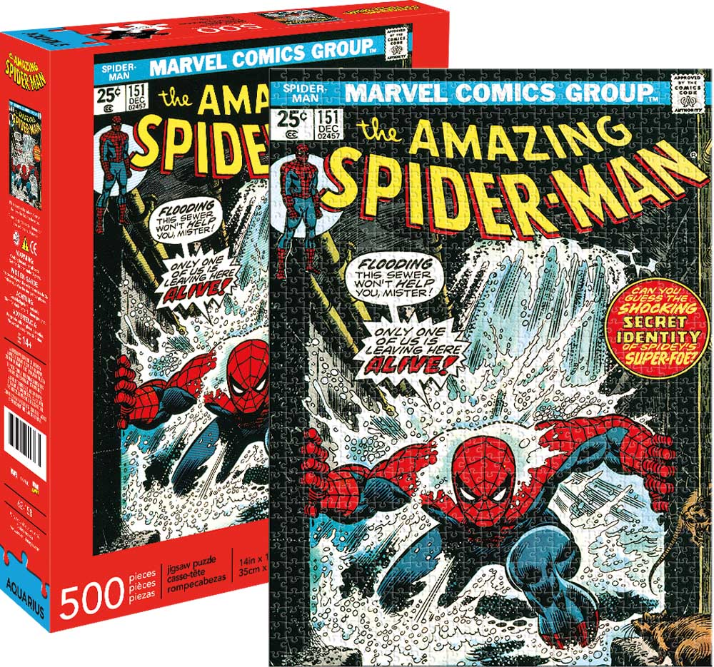 Marvel Spider-Man Cover Graphics / Illustration Jigsaw Puzzle
