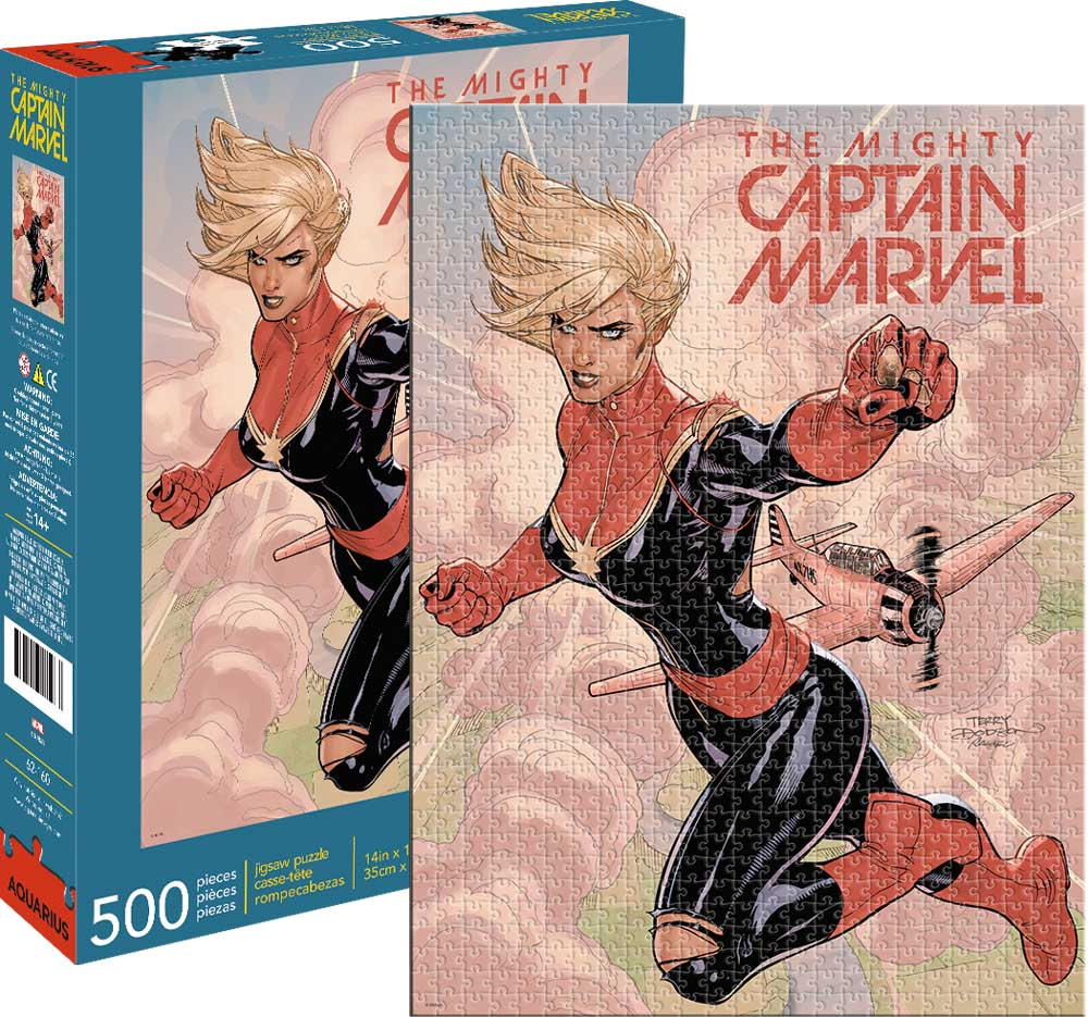 Marvel Captain Marvel Cover Graphics / Illustration Jigsaw Puzzle