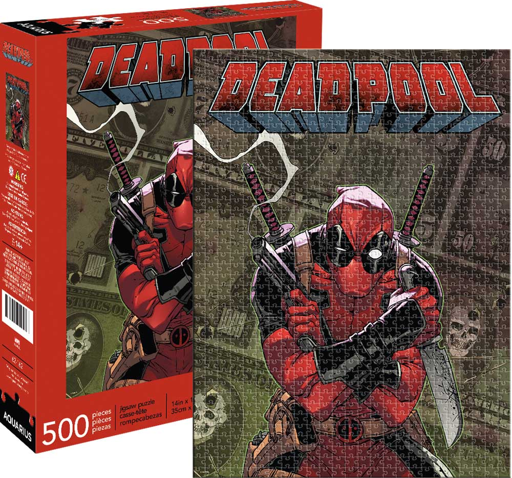 Marvel Deadpool Cover Graphics / Illustration Jigsaw Puzzle