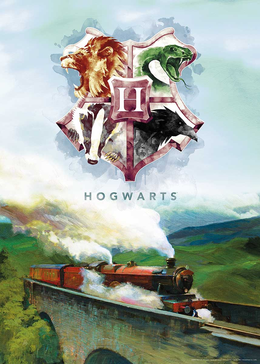 Harry Potter Express Fantasy Jigsaw Puzzle