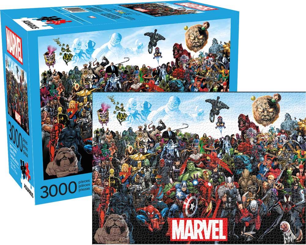 Marvel Cast Graphics / Illustration Jigsaw Puzzle