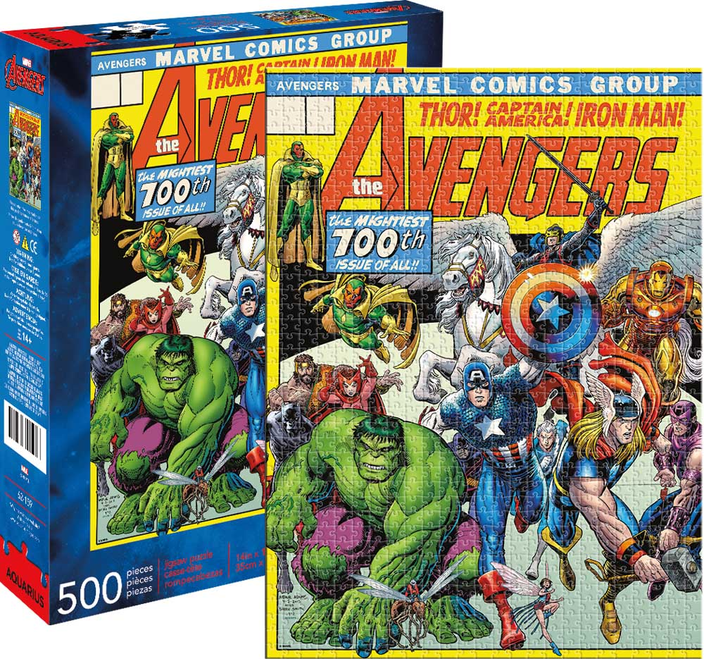 Marvel Avengers Cover Graphics / Illustration Jigsaw Puzzle