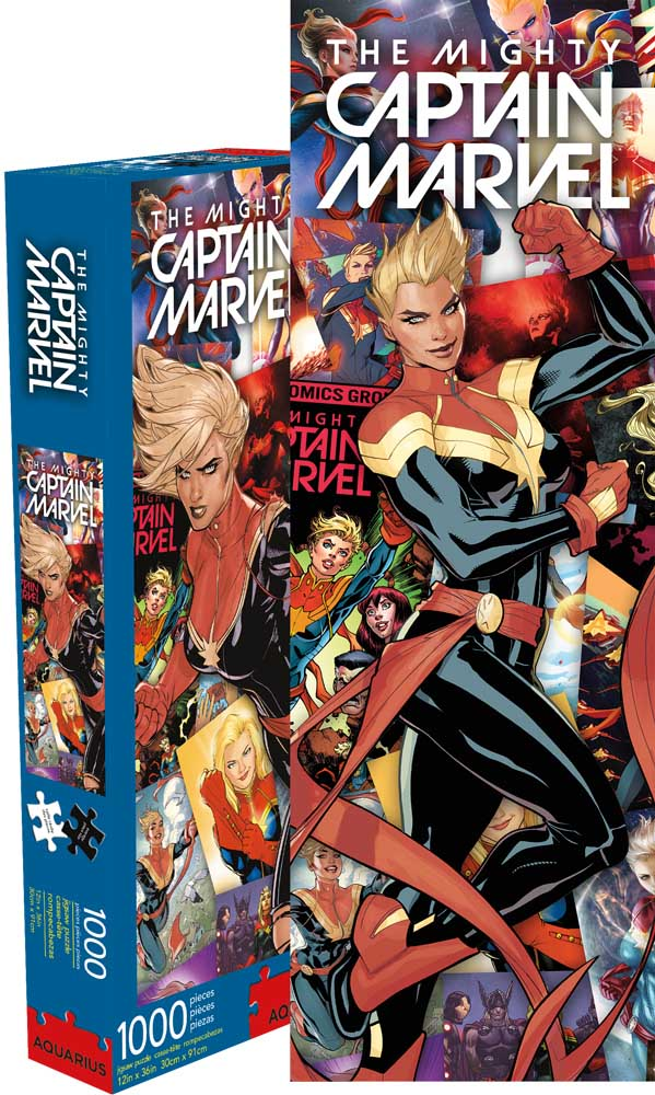 Marvel Captain Marvel Graphics / Illustration Jigsaw Puzzle