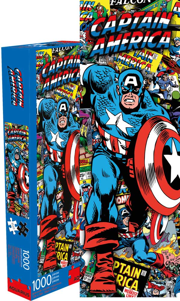 Marvel Captain America Graphics / Illustration Jigsaw Puzzle