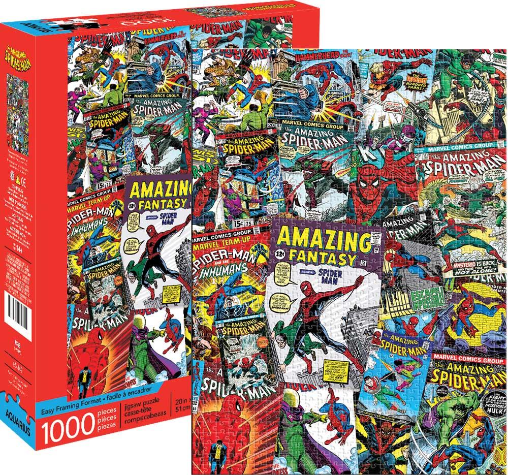 Marvel Spider-Man Collage Graphics / Illustration Jigsaw Puzzle