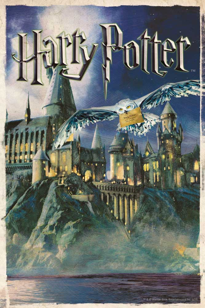 Hogwarts Puzzle in a Tube Harry Potter Jigsaw Puzzle