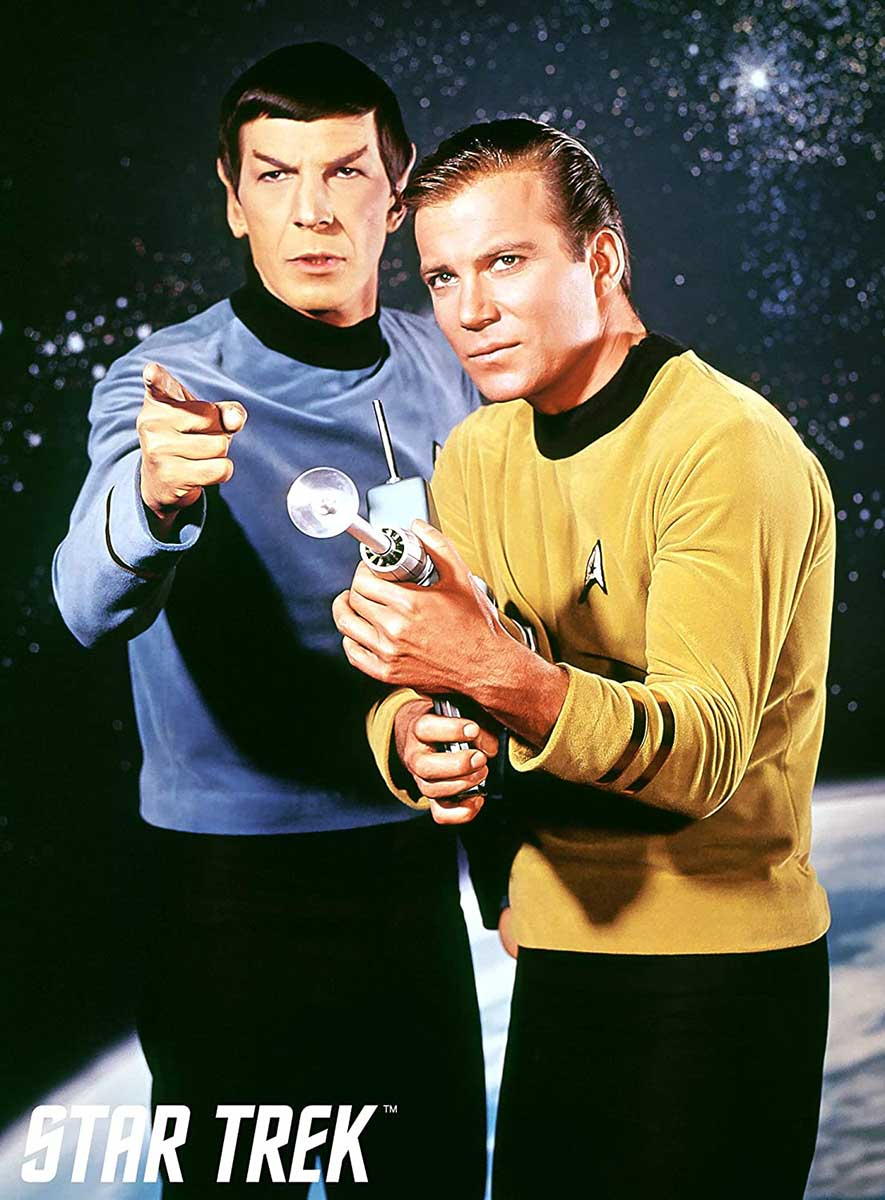 Star Trek Kirk & Spock Movies / Books / TV Jigsaw Puzzle