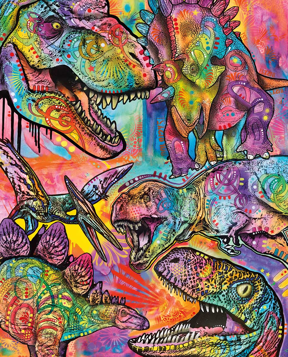 DR- Dinosaurs Dinosaurs Jigsaw Puzzle