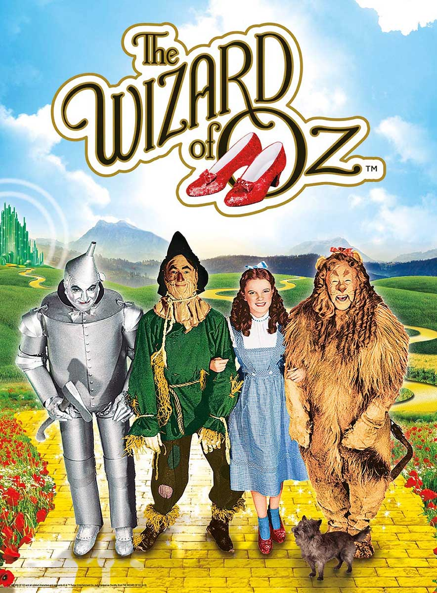 Wizard of Oz Movies / Books / TV Jigsaw Puzzle