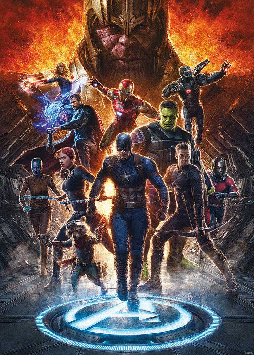 Marvel Avengers Endgame Collage - Scratch and Dent Movies / Books / TV Jigsaw Puzzle