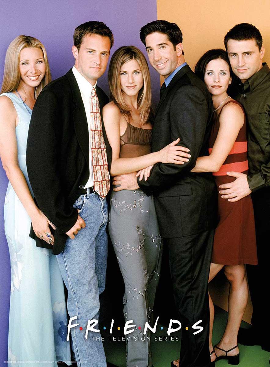 Friends Cast Movies / Books / TV Jigsaw Puzzle