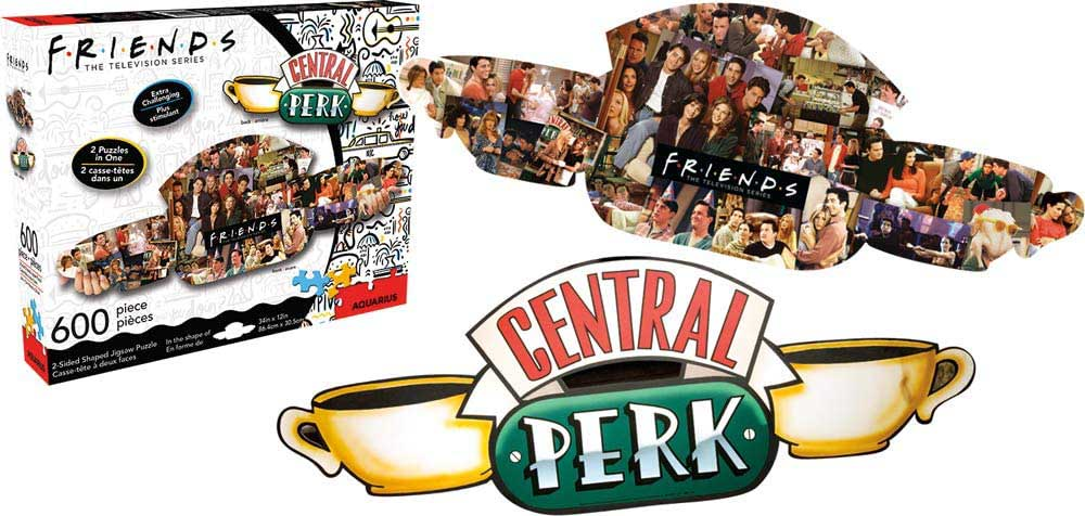 Friends Central Perk Movies / Books / TV Shaped Puzzle