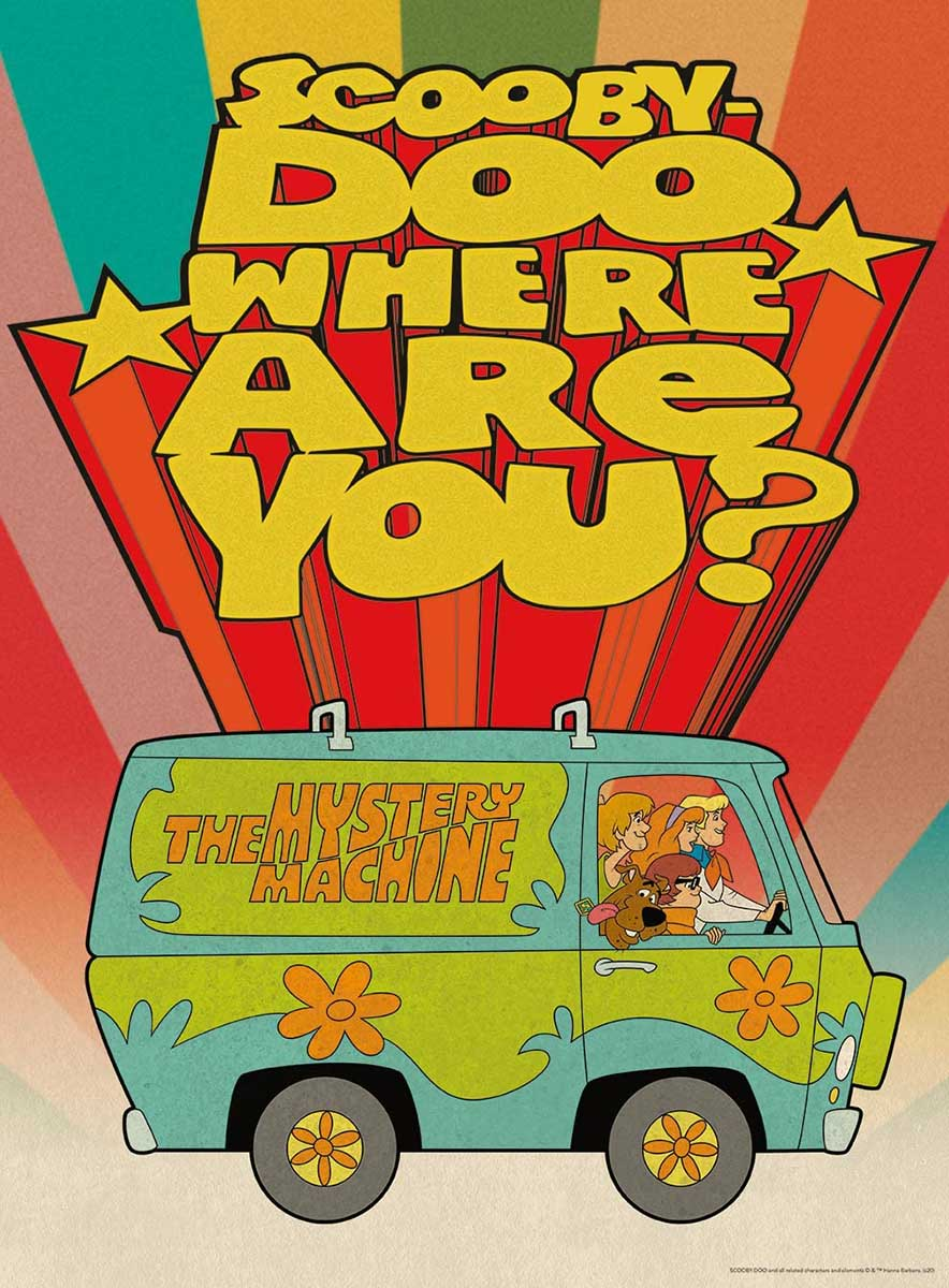 Scooby Doo Where Are You? Cartoons Jigsaw Puzzle