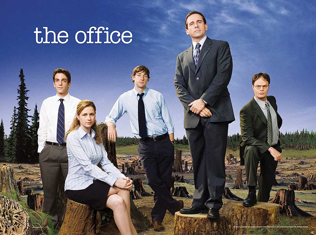 The Office Forest Movies / Books / TV Jigsaw Puzzle