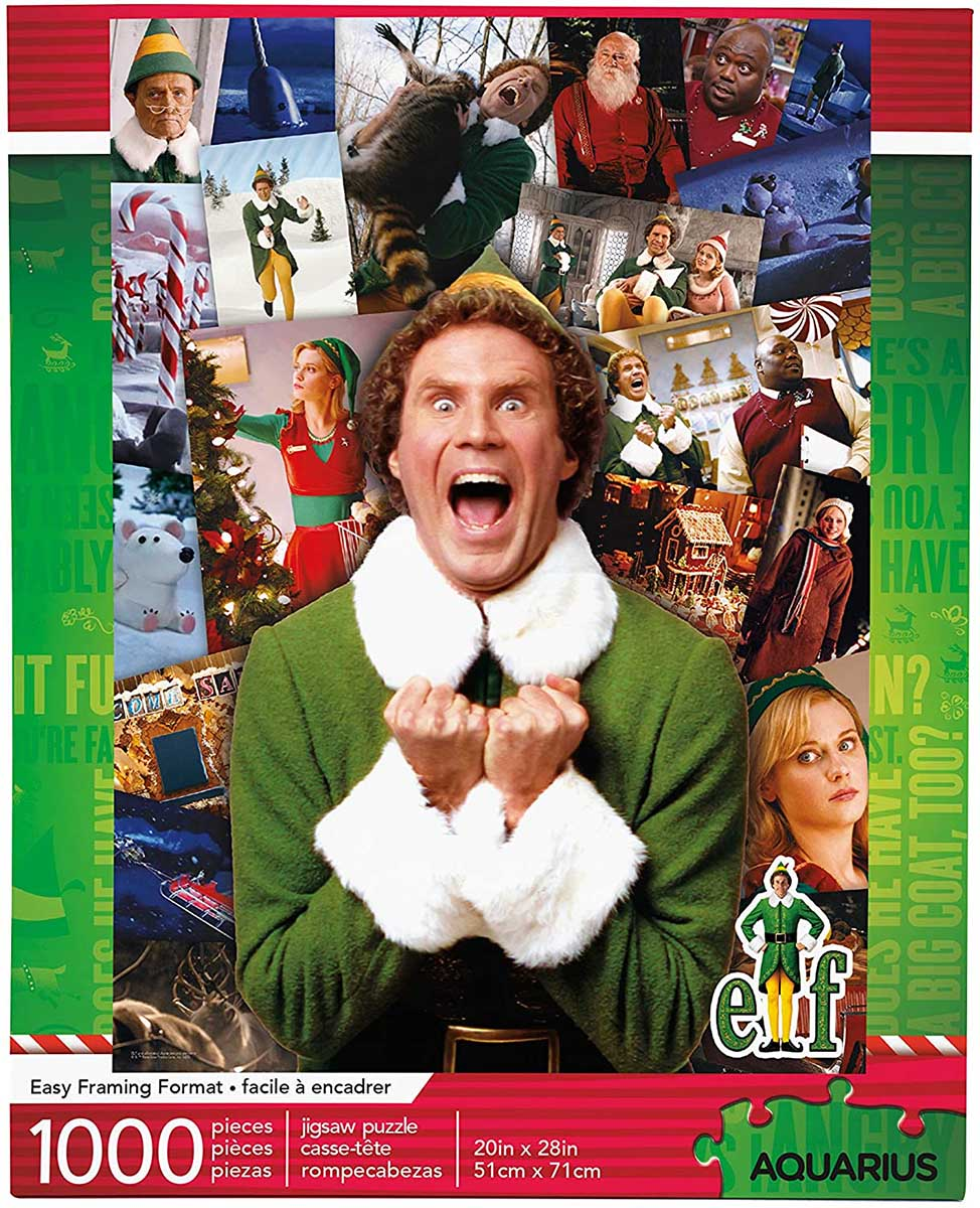 Elf Collage Movies / Books / TV Jigsaw Puzzle