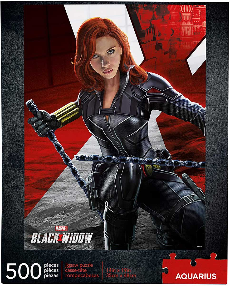 Marvel Black Widow Movie Movies / Books / TV Jigsaw Puzzle