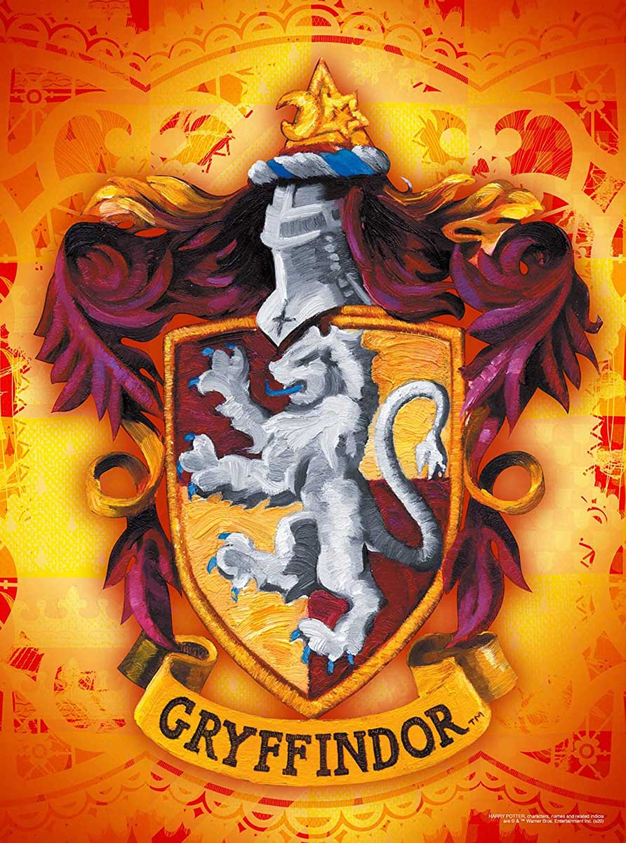 Harry Potter Gryffindor Logo Harry Potter Jigsaw Puzzle