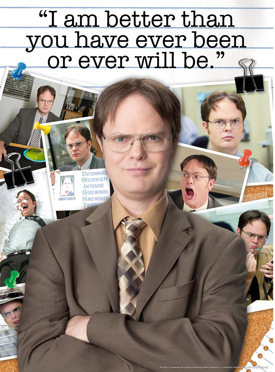The Office Dwight Schrute Quote Movies / Books / TV Jigsaw Puzzle