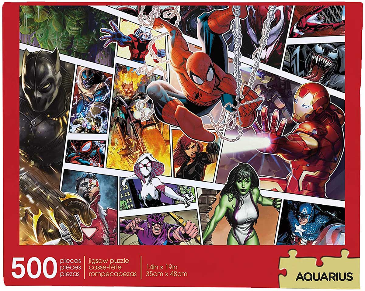 Marvel Panels Super-heroes Jigsaw Puzzle