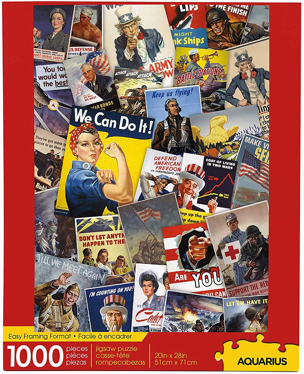 Smithsonian War Posters History Jigsaw Puzzle