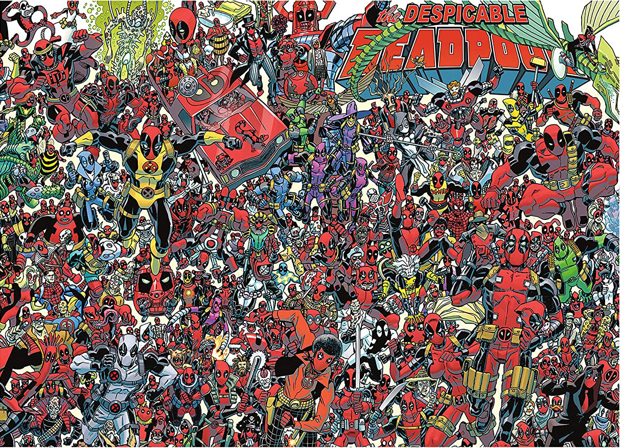 Deadpool Movies / Books / TV Jigsaw Puzzle