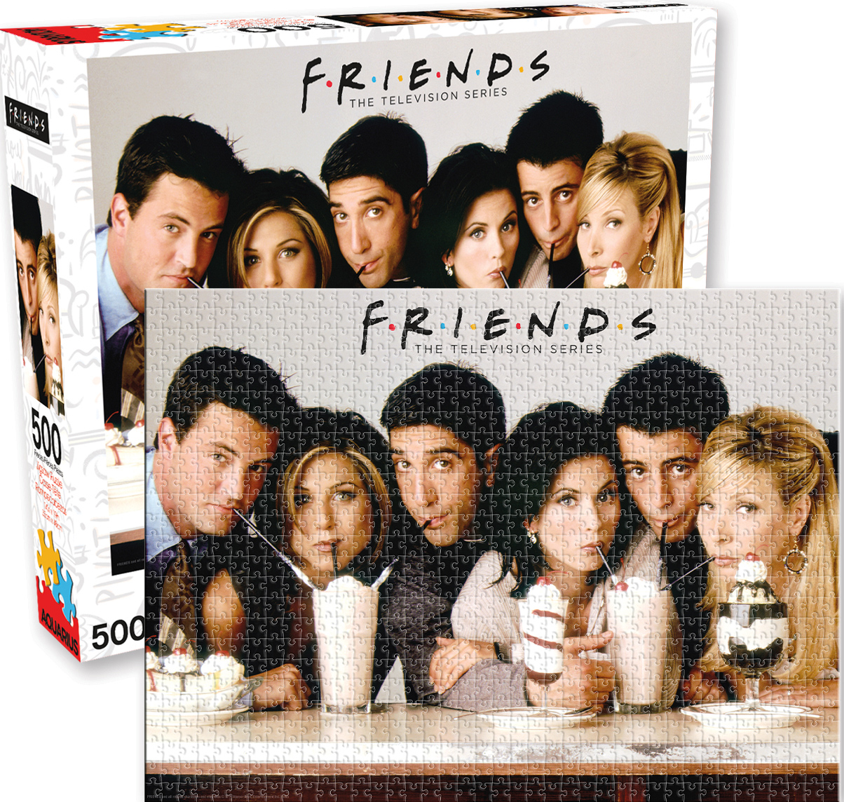 Friends Milkshake Movies / Books / TV Jigsaw Puzzle
