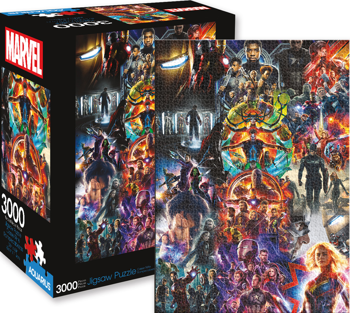 Marvel MCU Collage Movies / Books / TV Jigsaw Puzzle