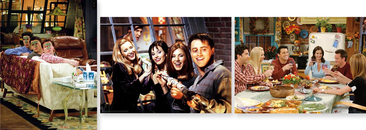 Friends 3 x 500pc Puzzle Set Movies / Books / TV Jigsaw Puzzle