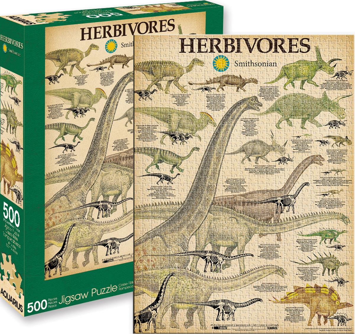 Smithsonian Herbivores Dinosaurs Jigsaw Puzzle