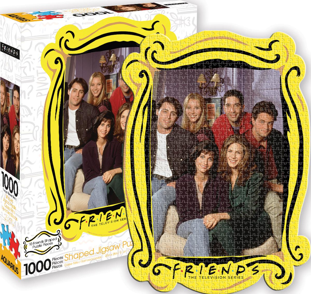 Friends Apartment Diecut Movies / Books / TV Shaped Puzzle