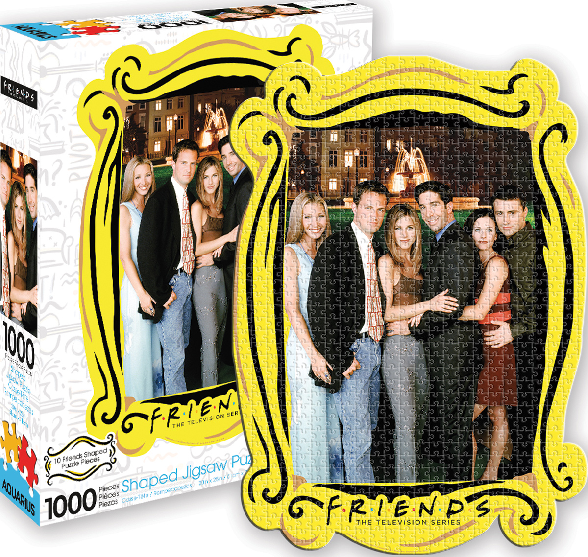Friends Water Fountain Diecut Movies / Books / TV Shaped Puzzle