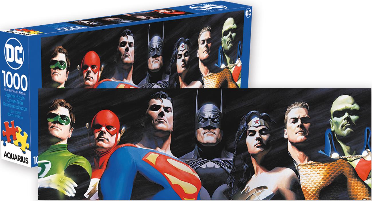 DC Comics Justice League Super-heroes Jigsaw Puzzle