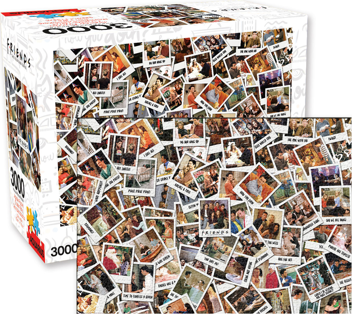 Friends Movies / Books / TV Jigsaw Puzzle