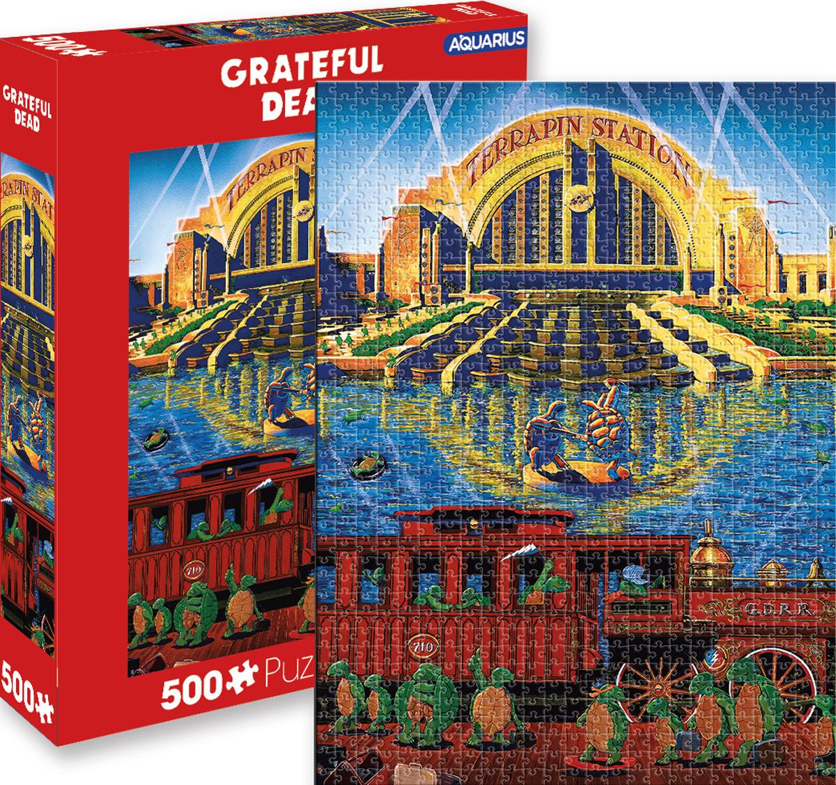 Grateful Dead Music Jigsaw Puzzle
