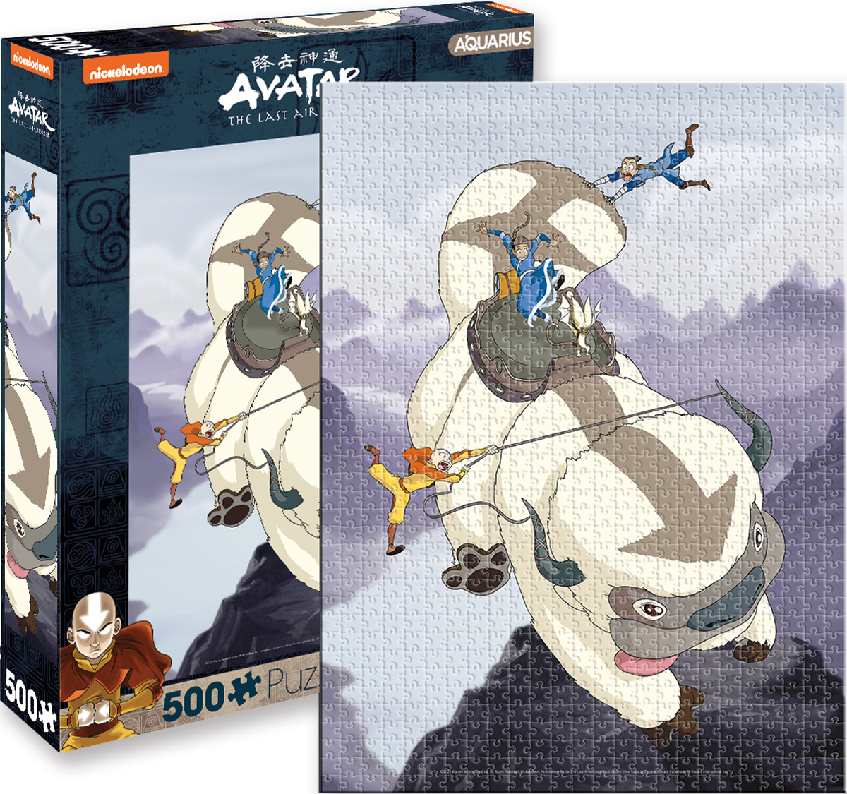 Avatar Appa and Gang Movies / Books / TV Jigsaw Puzzle