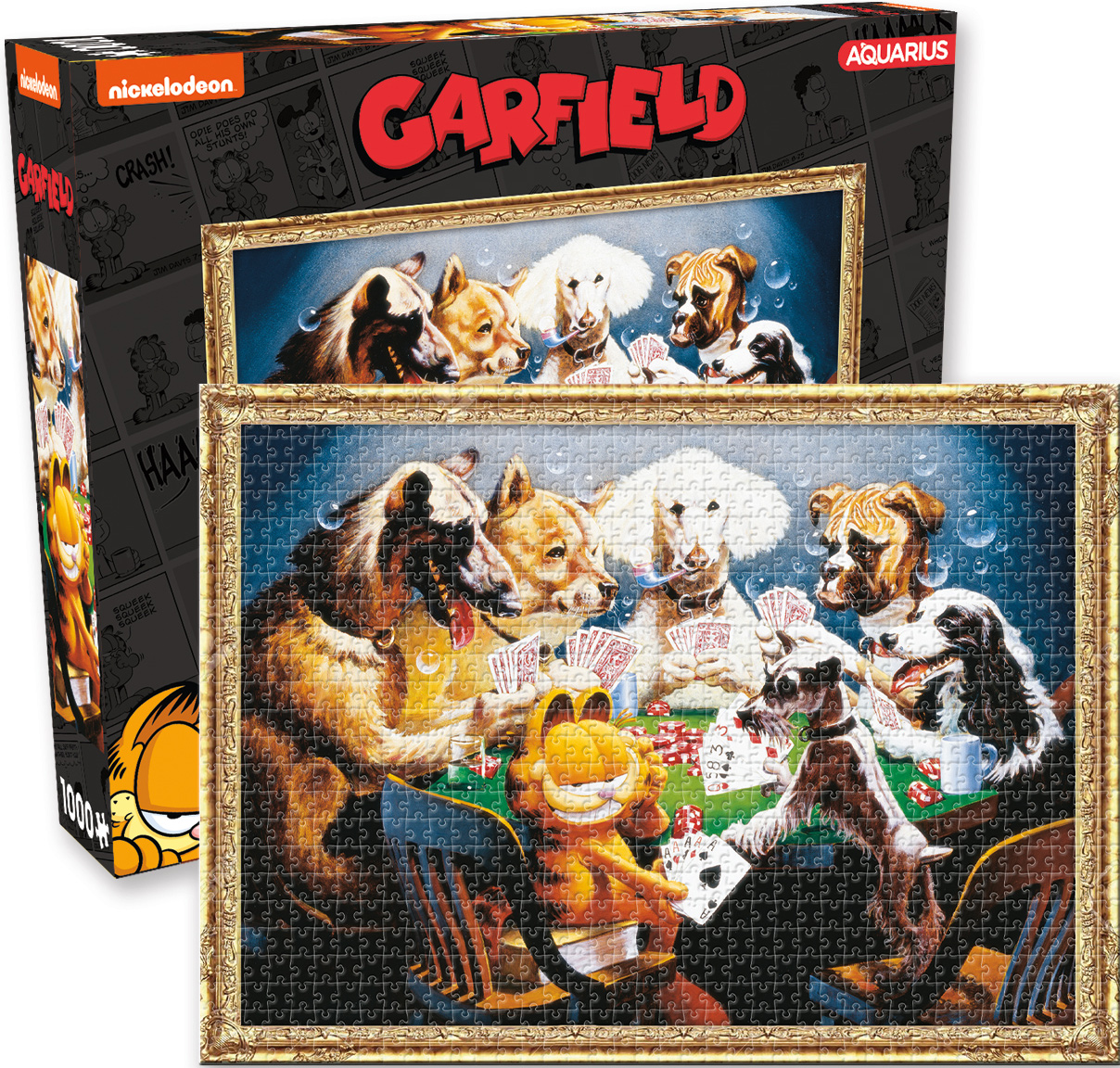 Garfield Bold Bluff Cats Jigsaw Puzzle