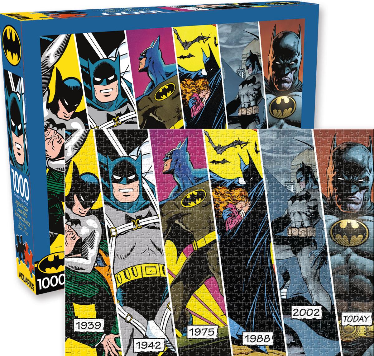 DC Comics Batman Timeline Super-heroes Jigsaw Puzzle