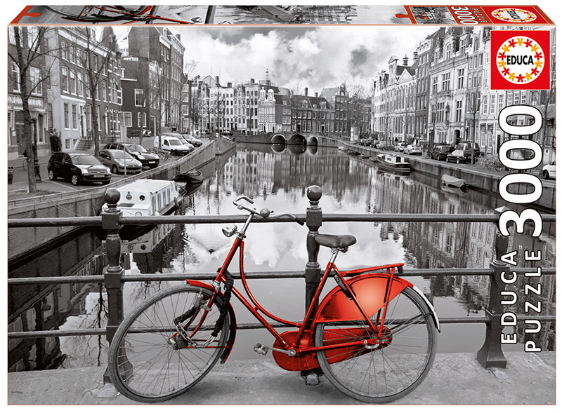 Amsterdam Photography Jigsaw Puzzle