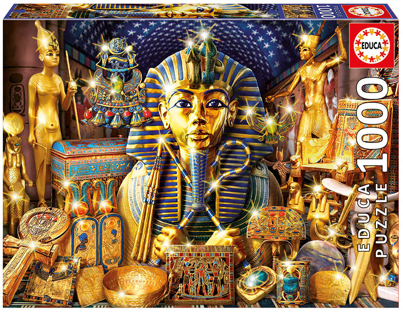Treasures Of Egypt Cultural Art Jigsaw Puzzle