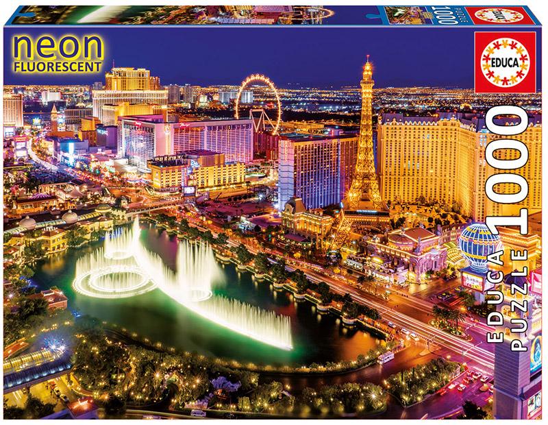 Las Vegas - Scratch and Dent Skyline / Cityscape Jigsaw Puzzle